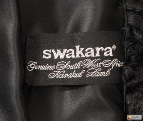 Шуба из каракульчи Swakara