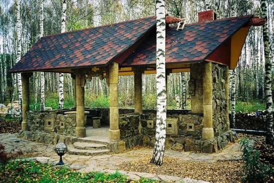 Изготовление и монтаж малых архитектурных форм по готовым и
