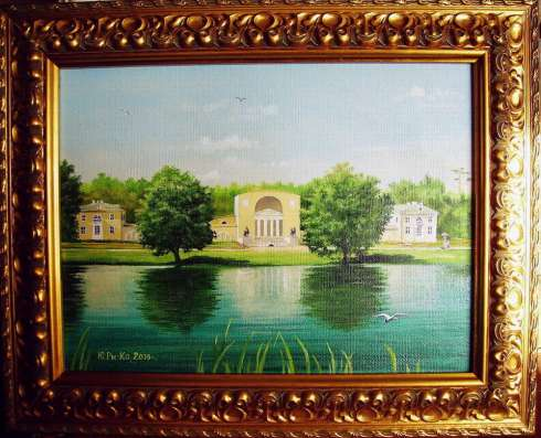 Картина от РиКо  Усадьба Голициных Кузьминки