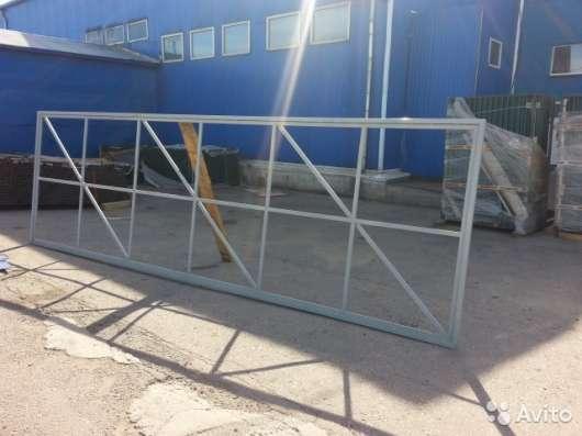 Каркас для откатных ворот по индивидуальным размерам