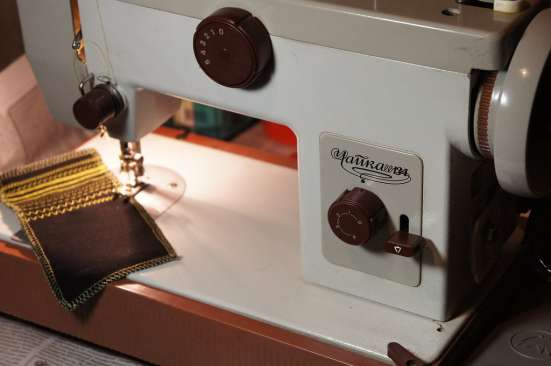 швейная машина Чайка, обучение, гарантия, поможем с доставко