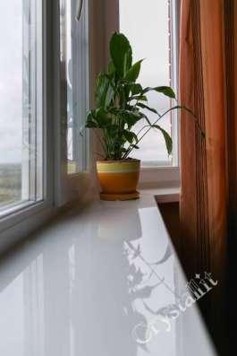 подоконники Crystallit в интерьере Вашего дома.Мир Окон