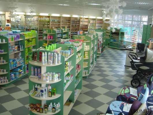 Торговая мебель для аптек от производителя