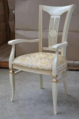 Столы и стулья из массива бука