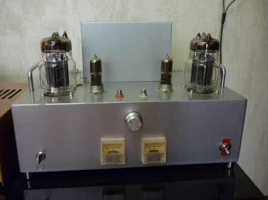 ламповый усилитель на 6с33с