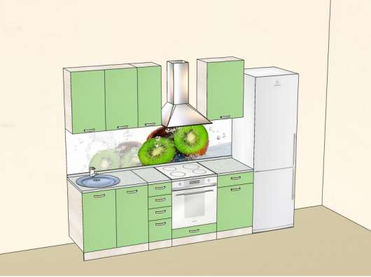 Кухня под заказ № 6