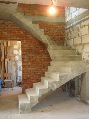 бетонные лестницы в Красноярске Фото 2