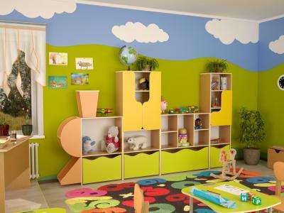Мебель для детей, игровые зоны
