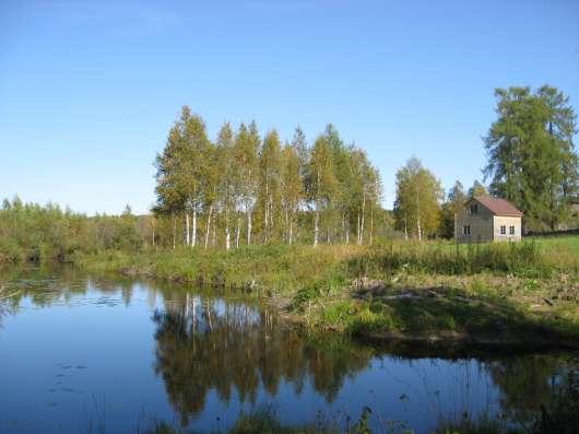 новый дом на 140 сотках на озере
