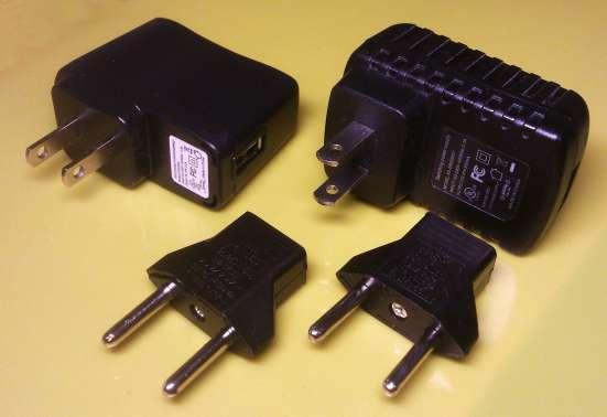 Адаптеры USB 110-220V 5V