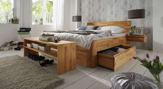 кровать из натурального дерева в Москве Фото 5