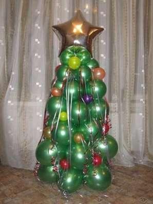 Оформление шарами на Новый год в Смоленске Фото 1
