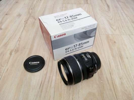 Объектив Canon 17-85 мм