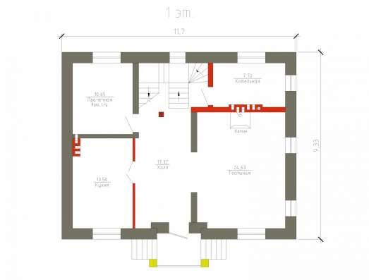 Готовый проект коттеджа 144 кв. м / Артикул М-31 в Перми Фото 3