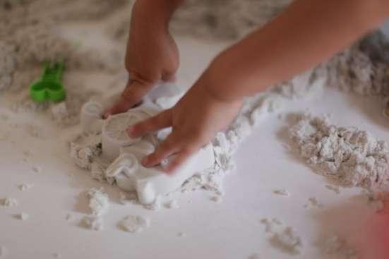 Космический песок разных цветов в Саратове Фото 2