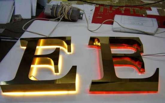 Объемные буквы со светодиодами
