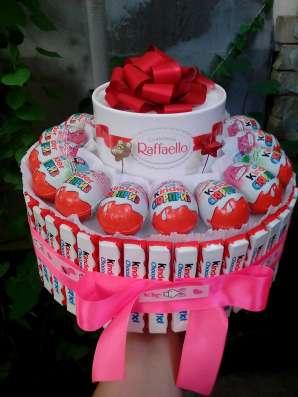Тортик из конфет и сока в детский садик в Анапе Фото 1