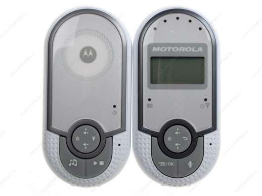 Радионяня Motorola MBP16 белый в помощь маме