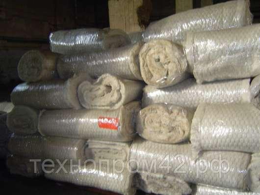 Маты прошивные МП-75, МП-100, МП-125; минвата, минматы