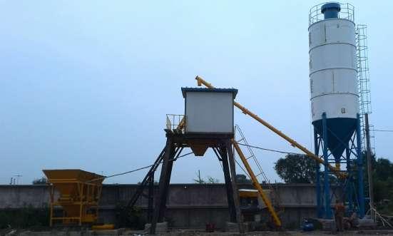бетонный завод HZS25 в Владивостоке Фото 4