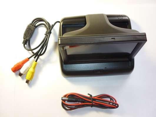 Монитор с диагональю 4.3 дюйма автомобильный, складной