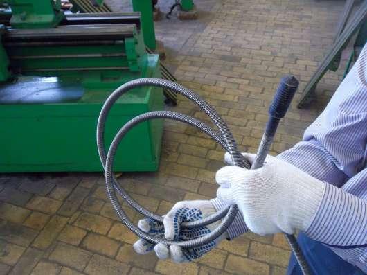 Трос сантехнический профессиональный для прочистки труб.