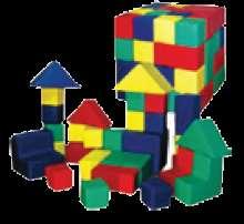 Мягкие игровые наборы, конструкторы для детской комнаты в Краснодаре Фото 5
