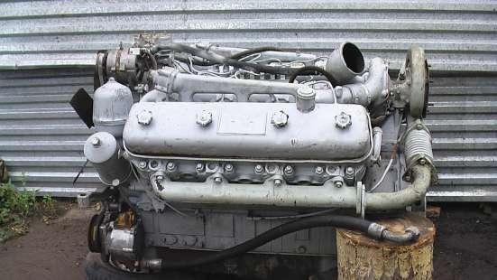 Двигатель на КрАЗ ЯМЗ-238НБ turbo в комплекте