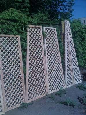 Шпалеры-деревянные решетки для окон беседок и оранжерей. в Пензе Фото 3