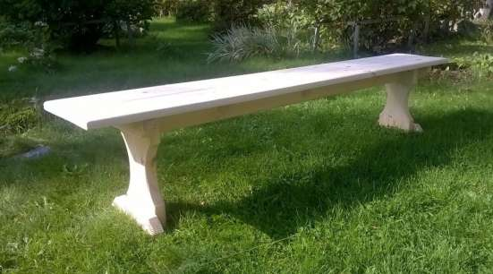 Садовая мебель из массива на заказ
