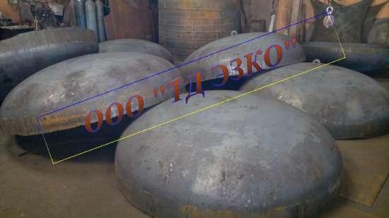 Днища эллиптические ф2000 мм, толщина стенки 10 мм,12 мм. в Электростале Фото 1