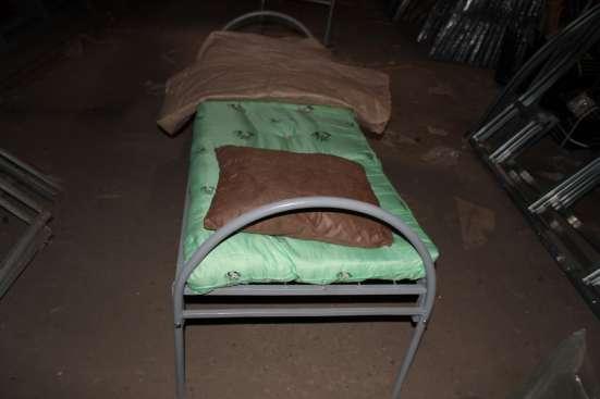Кровати металлические с доставкой в Волоколамске Фото 1