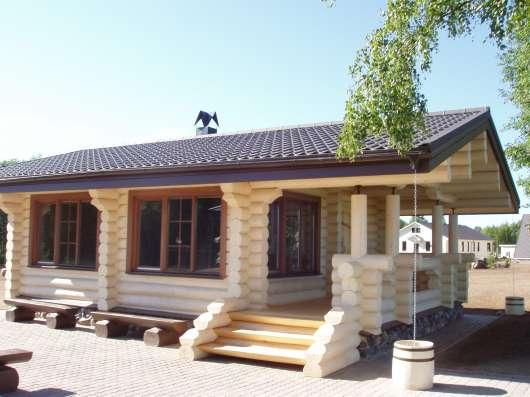 Рубим бревенчатые дома из архангельской сосны и ели, кедра