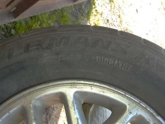 Диски с Резиной Nissan Elgrand 205/70/R15 + Запаска в Владивостоке Фото 4