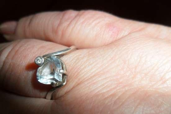комплект серебрянный с топазом в Пензе Фото 2