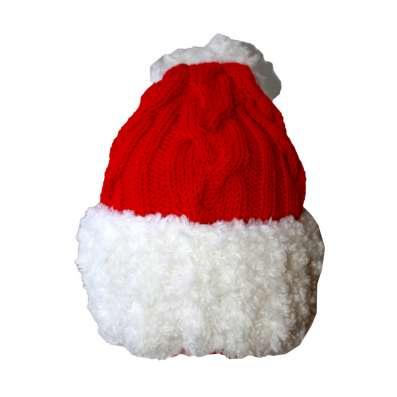 """Вязаная шапочка колпачок """"Новогоднее настроение"""""""