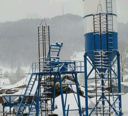 бетонный завод HZS25 в Владивостоке Фото 3