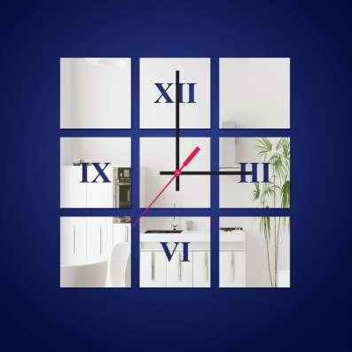 Зеркальные настенные часы в Кемерове Фото 4