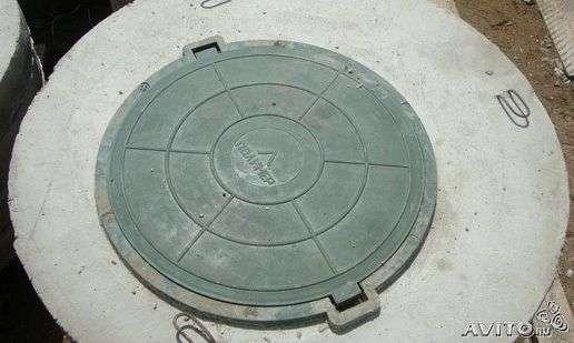 Кольца КС 1 и 1.5м - крышка, днище бетонное. Доставка. в Пензе Фото 2
