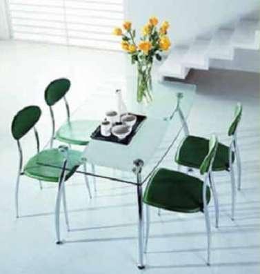 Столы из стекла, дерева, мрамора и стулья к ним в Москве Фото 2