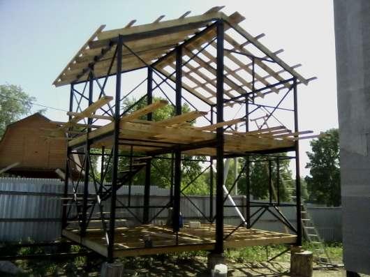 Каркасное строительство в Кемерове Фото 1