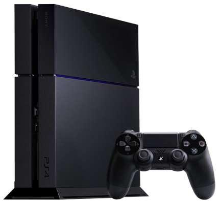 новая игровая приставка Sony PlayStation 4