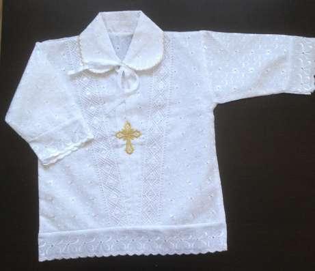 Крестильная рубашка для мальчика в Краснодаре Фото 2