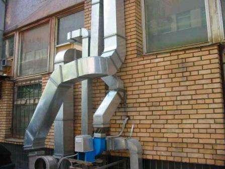 Комплексное обслуживание вентиляционных систем.