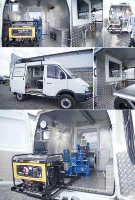 Лаборатория исследования скважин на базе УАЗ 39099
