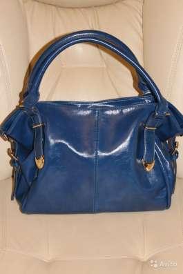Ярко синяя сумка новая