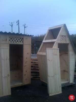 Туалетная кабина дерево - от производителя. Доставка. в Пензе Фото 2