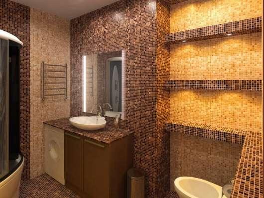 Укладка кафельной плитки и мозаики, сантехработы