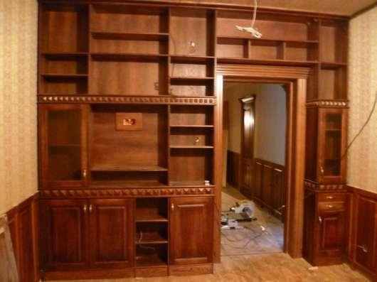 изготавливаем индивиду на заказ мебель и лестницы из массива