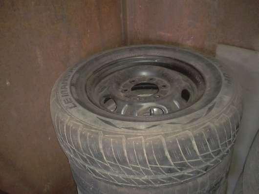 Диски с Резиной Nissan Elgrand 205/70/R15 + Запаска в Владивостоке Фото 2